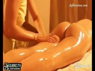 Видео, массаж интимных зон оргазм в контакте