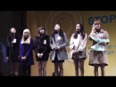 [FANCAM] 131119 Hello Venus - Yoo Ara's speech @ 2013 Child Abuse Prevention Day