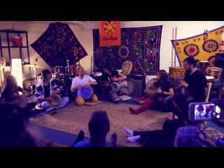 J-Gabbersha - соло Александра на дохоле на открытом уроке в Ethnobeat 02.02.14