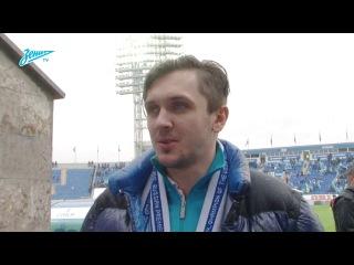 Максим Траньков и Федор Климов перед матчем Зенит Рубин
