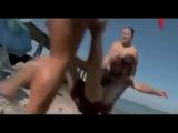 Приколы над людьми. На пляже снимает скрытая камера. Девушки в шоке!