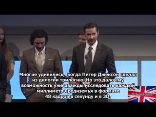 Richard Armitage Empire Awards Highlights 2014 (RUS SUB)