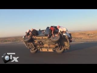 И снова колёса и арабы...