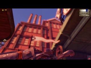 BioShock Infinite. Загружаемый контент. Битва в облаках. Только аэротрасса.