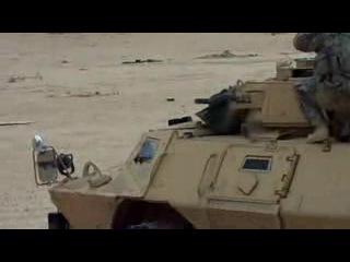 стрельба из АГС Мк19 в Ираке