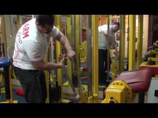 Trening of Armwrestler 79 (Exercise 13, Pronator 4)