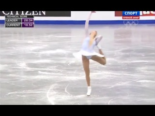 Каролина Костнер, короткая программа (2014 European Figure Skating Championships)