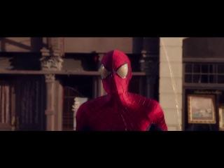 Человек-паук большой в мнгновение маленький
