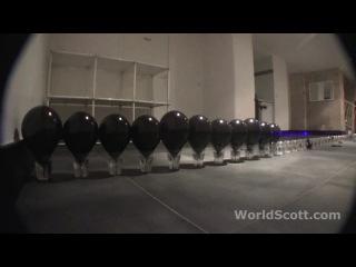 Как пробить лазером 100 шариков за 7 секунд