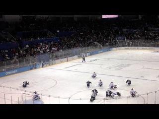 Следж-хоккей. Россия-США. Последняя минута матча.