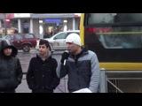 Россияныч у метро Пионерская
