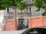 Реальное отображение инцидента на ГУ МВД в Мариуполе