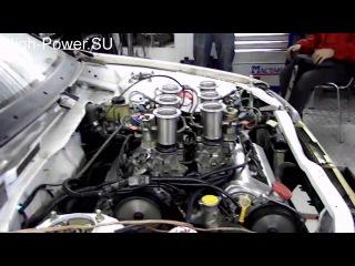 Mazda 323 - Замер на мощностном стенде + Закись азота