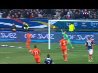 Франция 1-0 Голландия гол Блез Матюиди 06.03.2014
