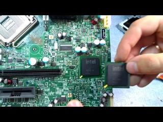| Ремонт необычного компьютера IBM. Замена южного моста