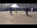 Уйгурский танец в колледже МАБ
