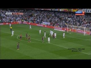 Обзор матча Барселона - Реал Мадрид 1:2 | Финал Кубка Испании 2014 [720p]