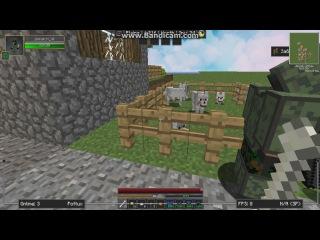 Паронормальное явление в minecraft № 2