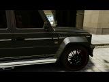 GTA IV - Mercedes-Benz g55 AMG Mansory And Rolls Royce Ghost (n3w 2O14) HD 720p