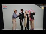 [16.04.14]  Photoshoot with Heechul | tvN Flower Grandpa Investigation Team