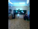 Ксюша и восточные танцы!А Валера смешно объявил!ха ха-)