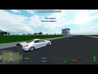 Scion TC Drag V8 4 Turbo