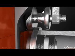 Технология накатки канавок Victaulic Россия (Виктолик, Виктаулик) на трубах для бессварного соединения болтовой муфтой Звоните +79045551040