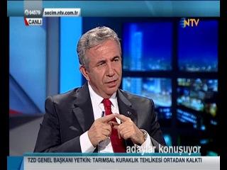 Mansur Yavaş  NTV Adaylar Konuşuyor Programı   21 Mart   Bölüm 1