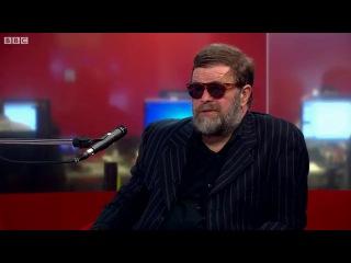 Борис Гребенщиков о решении проблем между Россией и Украиной (BBC:Русская служба, 3 апреля 2014 года)