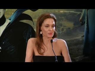 6 мая 2014 Париж, пресс-конференция фильма «Малефисента»