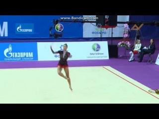 Моника Мичкова, обруч. Гран-При 2014, Москва