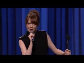 Emma Stone - All I Do Is Win Lip Sync Battle