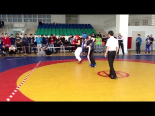 Андерсон Ирина 1-й бой Чемпионат РК по кикбоксингу лайт контакт
