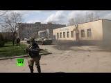 Донецкий дрифт - ополченцы сделали «восьмерку» на БМД HD 720 плеер vk - Украина #tmv