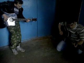 вот что будет если Джону Коннору и Терминатору дать по гитаре!!!!