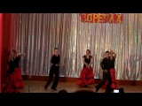 танцующие преподаватели НВК 16