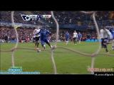 Чемпионат Англии. Челси 4-0 Тоттенхэм. Гол Ба