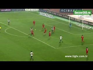 Обзор матча Бешикташ - Антальяспор (0-0)