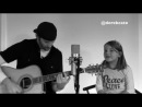 Derek Cate with daughter Hailey Cate singing Monster by Eminem & Rihanna