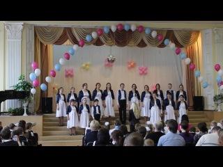 Повенецкий хор исполняет песню про колдунью неумеху