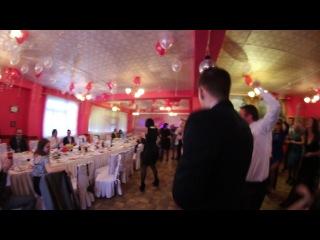 Ведущий Алексей Коведяев | Флэшмоб | Свадьба Тимура и Екатерины