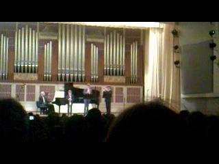 Трио трубачей- отчётный концерт ДОСМШИ для одарённых детей. 28.04.2014