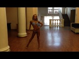 Позирование фитнес-бикини, Кристина Сайфутдинова г. Ижевск