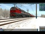 trainz запуск дизеля 2тэ116у