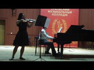 Ян Вангал. Соната для альта и фортепиано Es-dur. Исполняют Олеся Ермолина и Максим Свербиус.