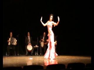 Сивохина Юлия. Ракс Шарки Дебют в сопровождении оркестра. Тарик Ель Нуджум 2014