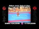 Shihan Jesús Talán Shinkyokushin Kyokushin Exhibición Campeonato Europa Zaragoza 1991