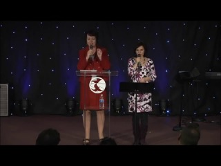 Pastor Olga Golikova from St. Petersburg, Russia speaks at The River Church 2-18-2012
