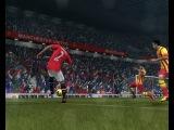 Супер гол Месси пяткой в FIFA ONLINE