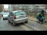 В Твери на ул Фадеева пьяный водитель сбил девушку с ребенком